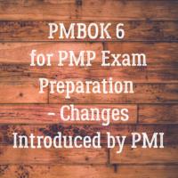 PMBOK 6 for PMP Exam Preparation