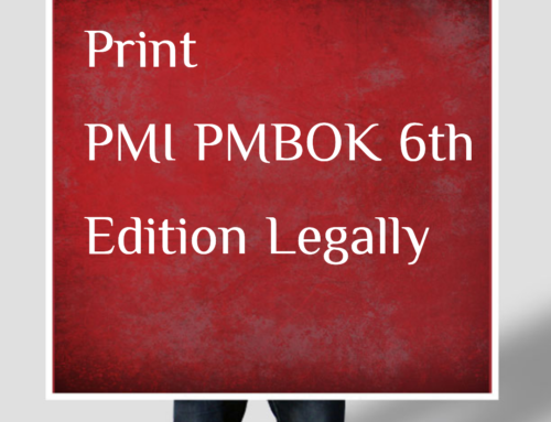 PMBOK Guide 6th Edition PDF Legally Print Online